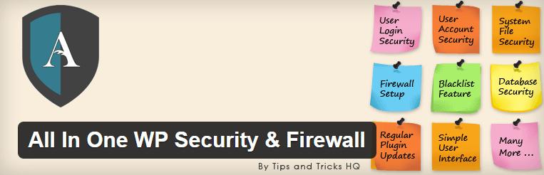 wordpress security plug-in