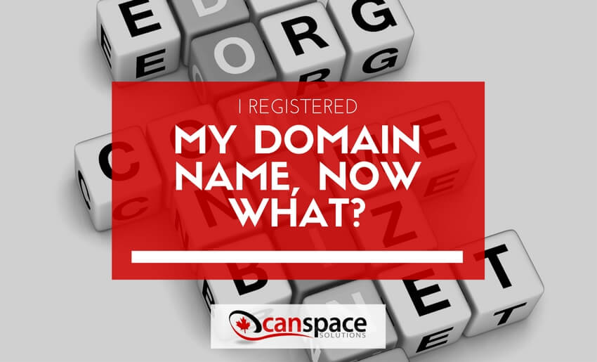 What to do after registering your domain name