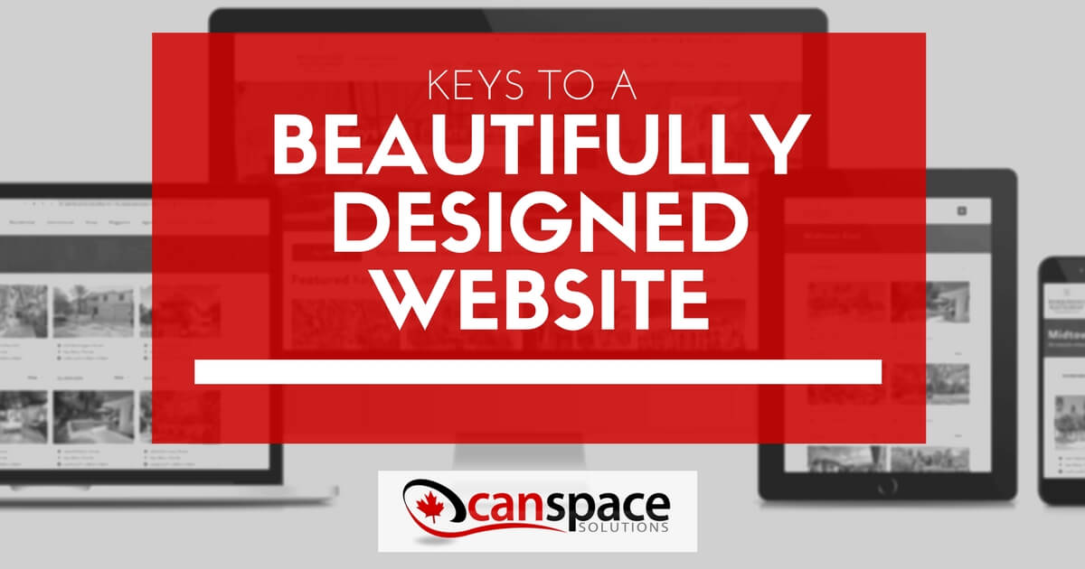 Keys to a beautifully designed website
