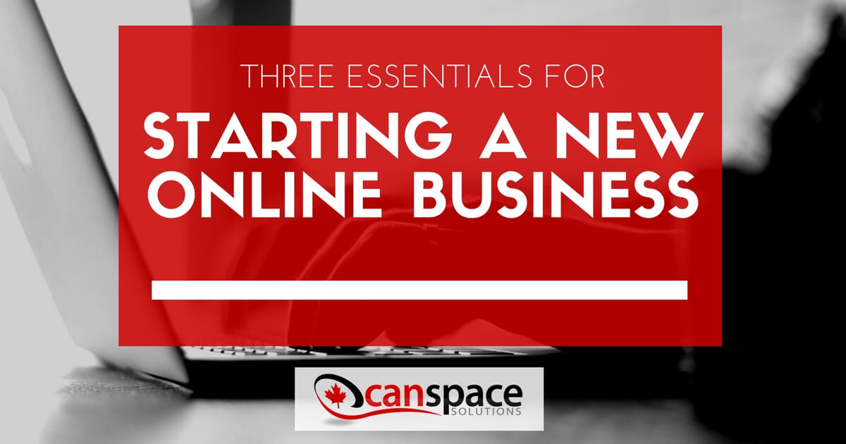 Starting a new online business