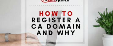 how to register a .ca domain