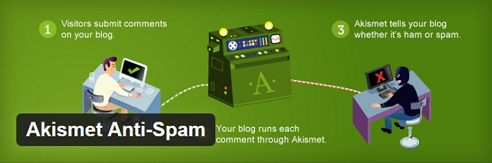wordpress plugin Akismet