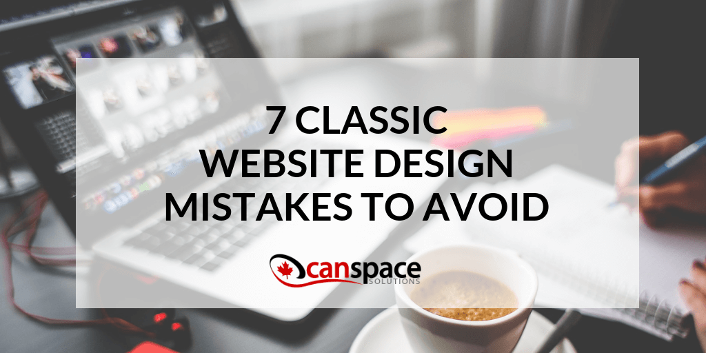 7 Design Mistakes To Avoid In Your Hall: 7 Classic Website Design Mistakes To Avoid