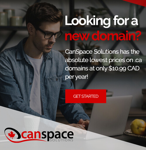 Get your Domain with CanSpace!